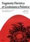 Fragmenta Floristica et Geobotanica Pol., XVIII,2, 2011