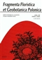 Fragmenta Floristica et Geobotanica Pol., XIII/2/2006