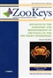 ZooKeys 18: Advances in the Taxonomy and ...