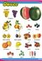 Owoce - plansza dydaktyczna