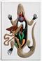 Jaszczurka - trójwymiarowy model anatomiczny