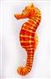 Konik morski pomarańczowy - poduszka 40 cm