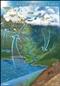 Obieg wody w przyrodzie - plansza dydaktyczna