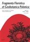 Fragmenta Floristica et Geobotanica Polonica,XII/1/2005